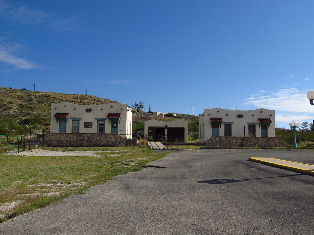 White S City New Mexico Former Auto Court At The