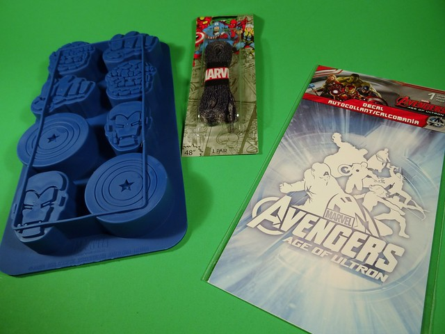 May 2015 Loot Crate Marvel stuf
