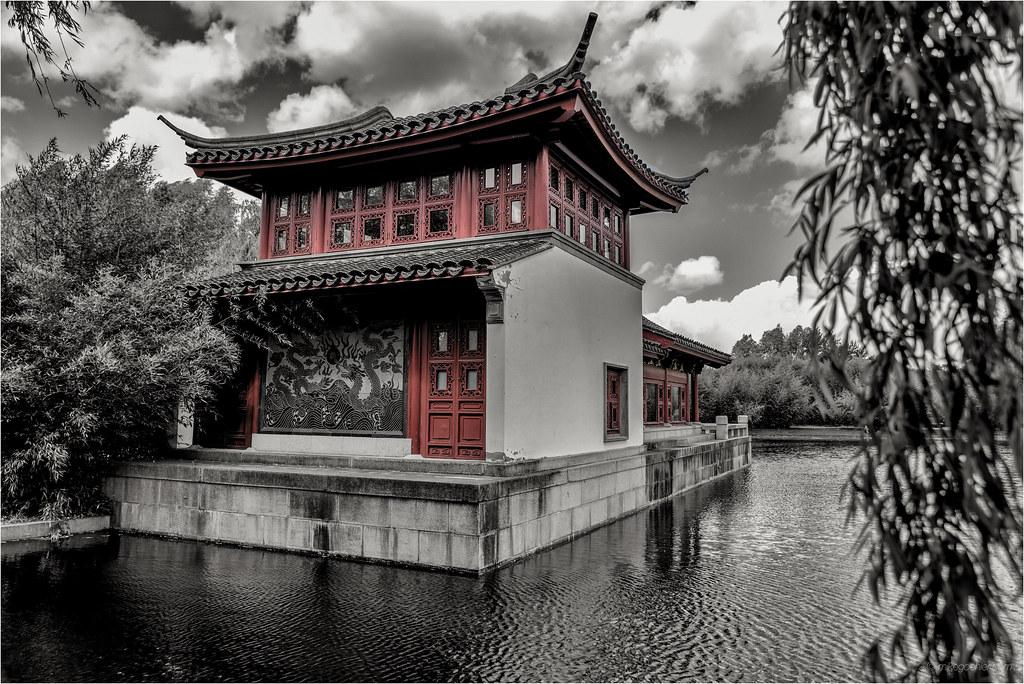 Pavillon i g rten der welt berlin japanischer garten - Berlin japanischer garten ...