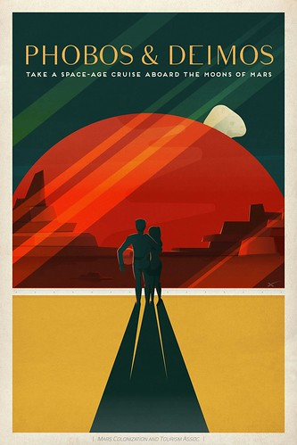 Travel Poster: Phobos and Deimos