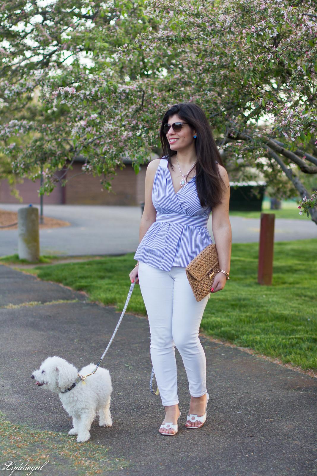 striped peplum top, white jeans, straw clutch-13.jpg