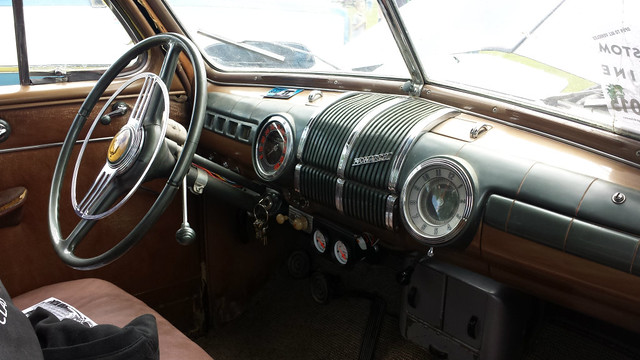 1948 Monarch interior