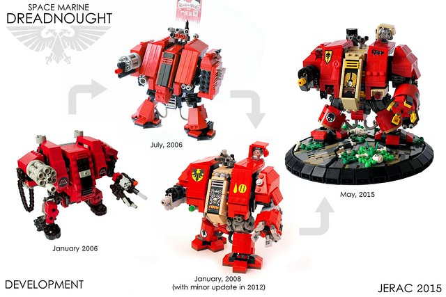 WH40k Space Marines Dreadnought - development timeline