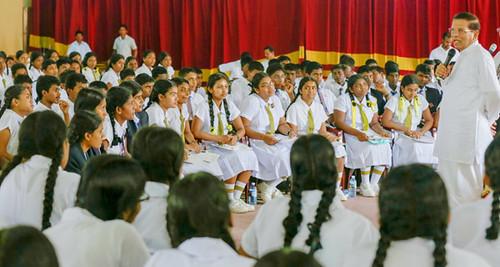 President visits Jaffna