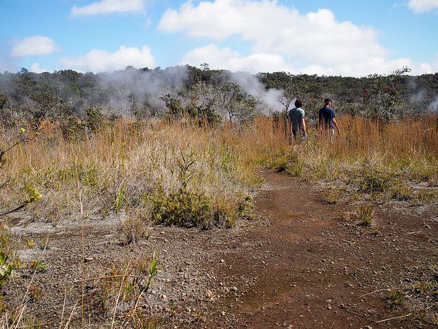 Hawaii steam vents