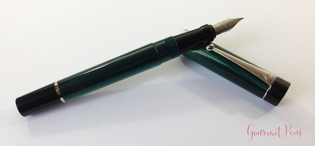 Review Visconti LE Classic Green Fountain Pen @CouronneDuComte (12)