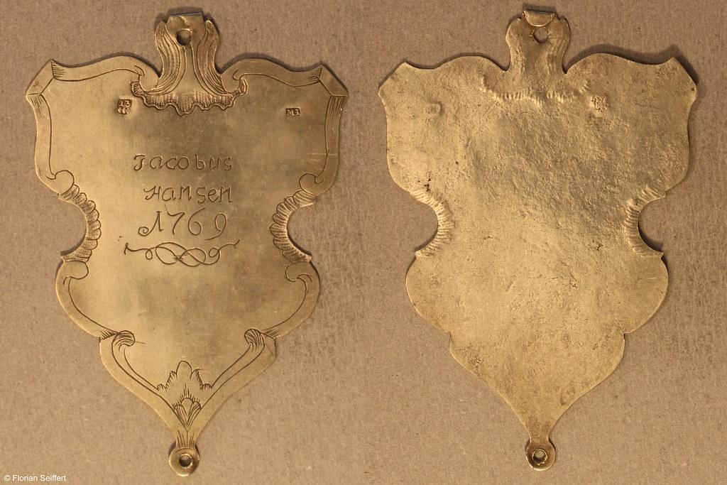 Koenigsschild Flittard von hansen iacobus aus dem Jahr 1769