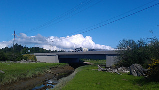 New SR 532 Davis Slough bridge.