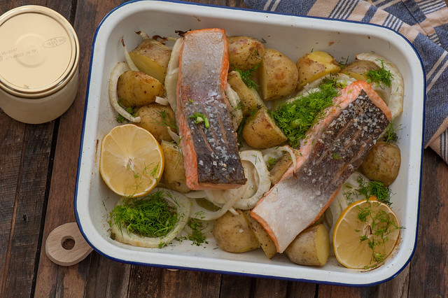 Super Easy Baked Salmon