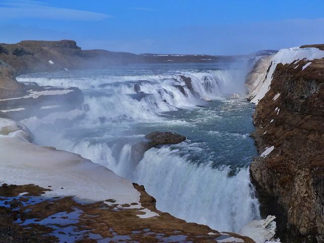 Gullfoss, en el círculo dorado de Islandia