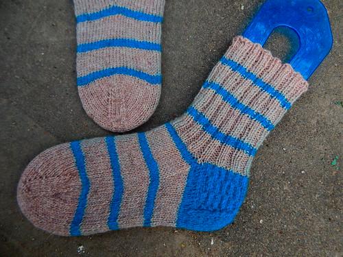 полосатые носки | horoshogromko.ru