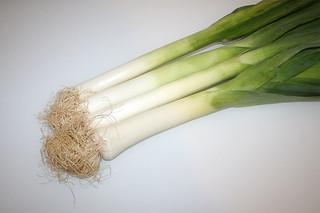 01 - Zutat Lauch / Ingredient leeks