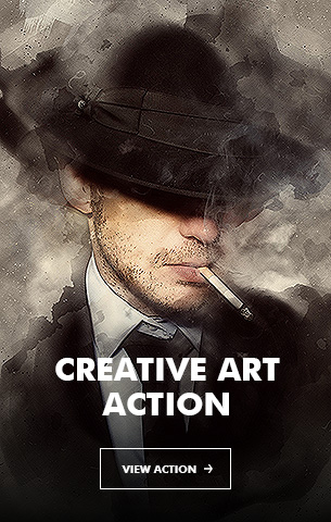 Creative Splatter Photoshop Action - 32