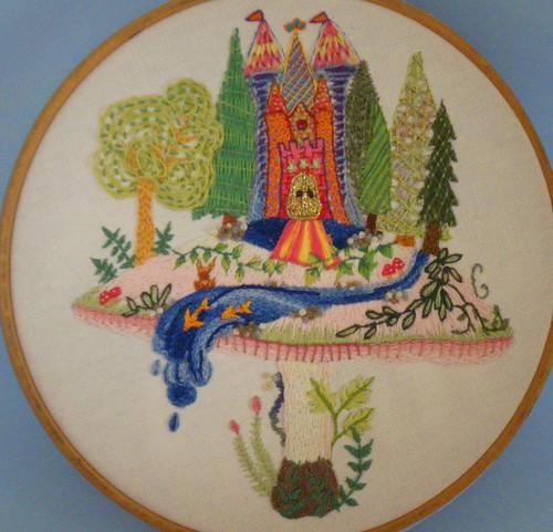 E-laborate E-nchanted Forest E-mbroidery for E-week