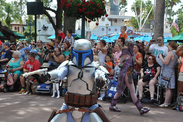 Star Wars Weekends 2015 Motorcade