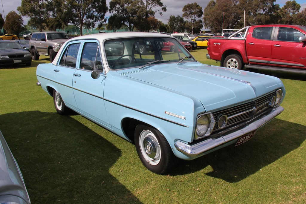 1968 Holden Hr Special Sedan Kurrewa Blue With A Grecian