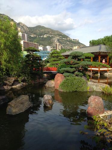 japanese gardens in monaco