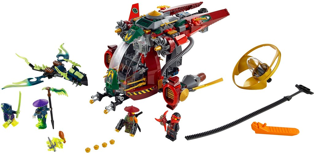 LEGO Ninjago 2015: 70735 - Ronin R.E.X.