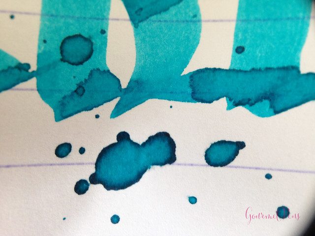 Ink Shot Review Diamine Aqua Lagoon @CouronneDuComte (8)