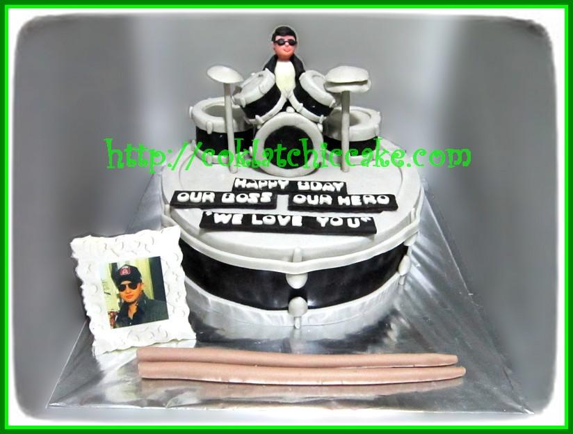 Cake Drum dan foto