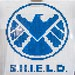S.H.I.E.L.D. logo mosaic