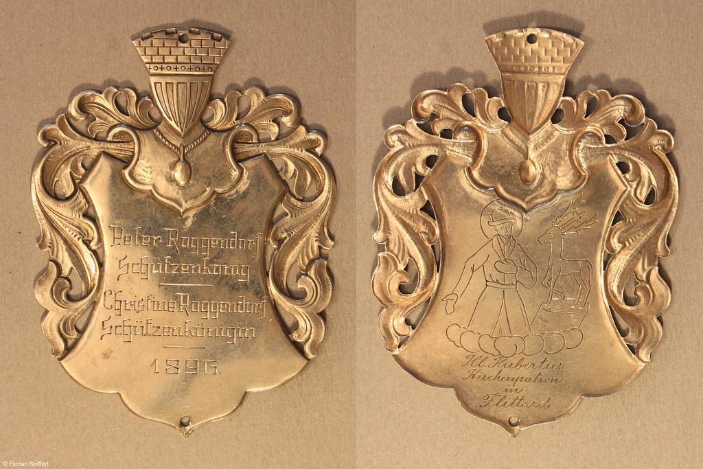 Koenigsschild Flittard von roggendorf peter aus dem Jahr 1896