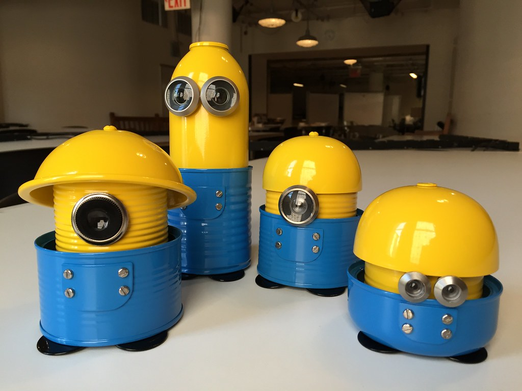 Robot Recipes: Minions
