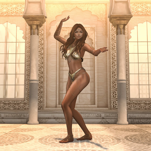 Belly Dancing in Second Life