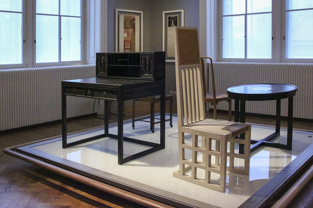 Josef Hoffmann, Lady's Writting Desk from the Furnishings for the Home of Hermann Wittgenstein, Vienna, 1905