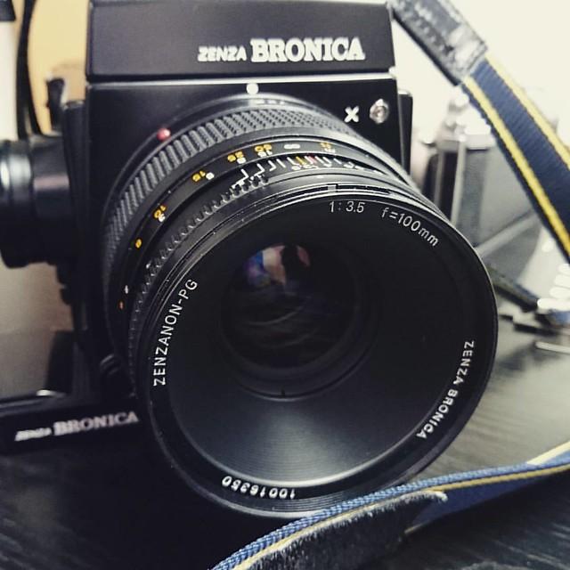 Bronica PG 100mm f3.5 Bronica的標準視界