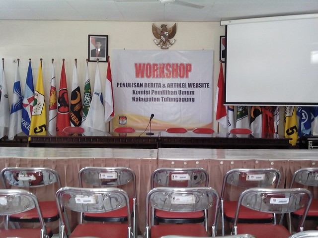 Ruang yang akan digunakan untuk workshop jurnalistik(3/6)
