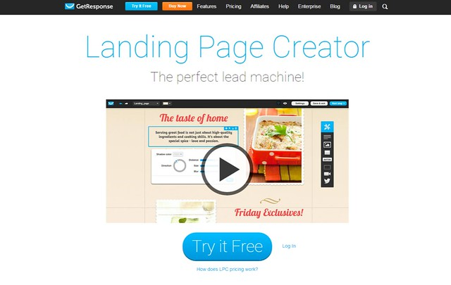 Landing Page Creator - squeeze page generator software by GetResponse (1)