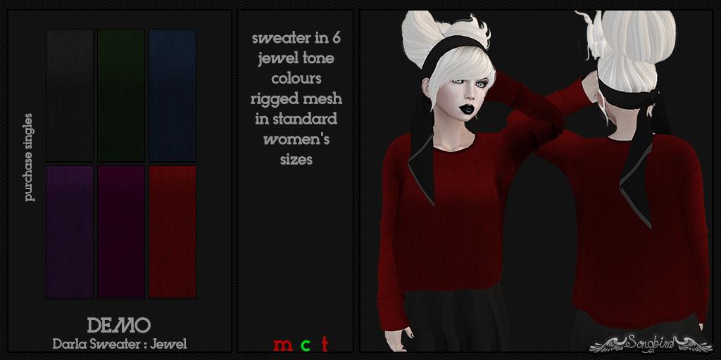 ~SongBird~ Darla Sweater Jewel