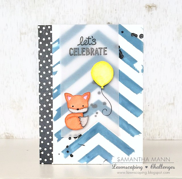 let's celebrate (fox) card - ls, watermark