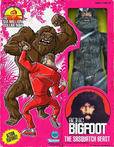 Minion Factory The Six Million Dollar Man - Bigfoot