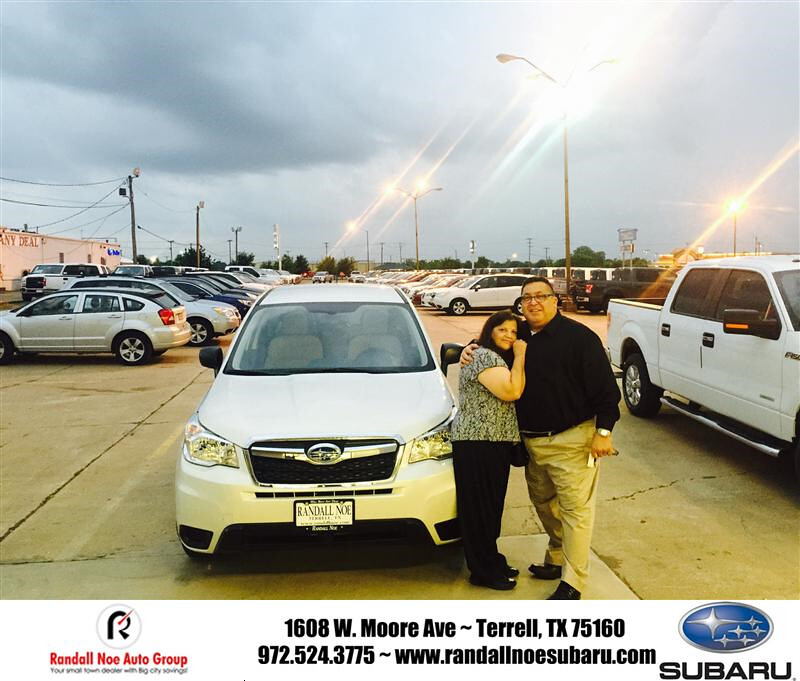 Congratulations to Gary Garcia on your #Subaru #Forester f ...