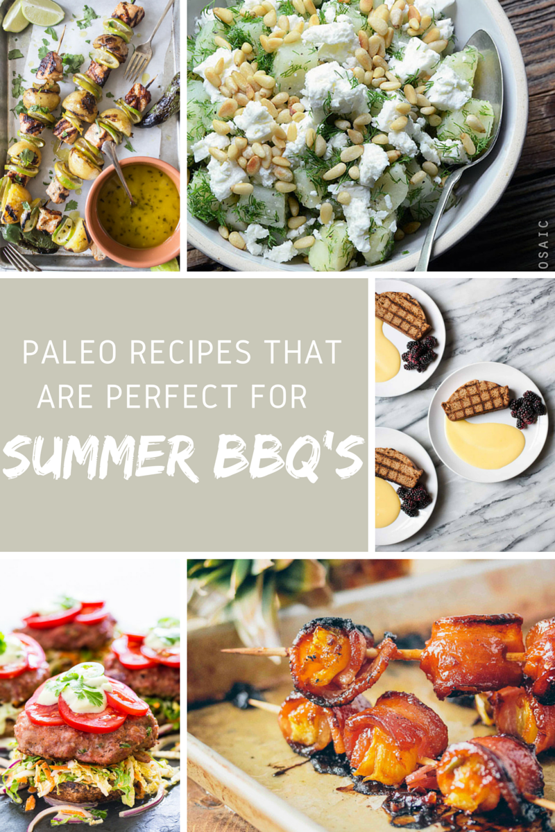 Paleo Summertime BBQ Recipes