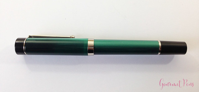 Review Visconti LE Classic Green Fountain Pen @CouronneDuComte (3)