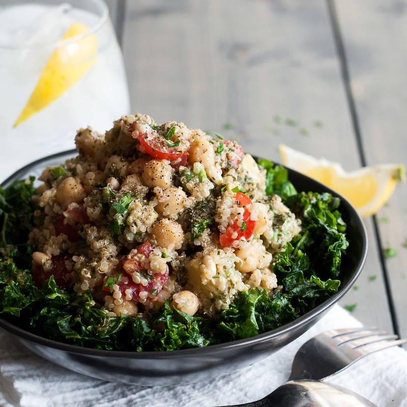 10 healthy summer dinners (like avocado-quinoa tabbouleh with creamy herb vinaigrette)