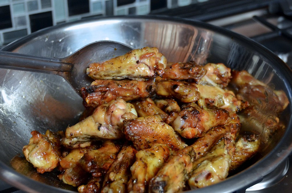 Caribbean Jerk Chicken Wings