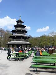 Am Chinesischen Turm in München