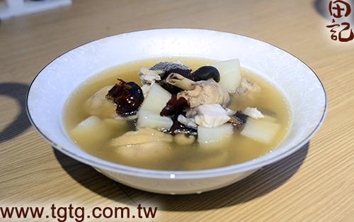 田記鮮雞精-山藥鱸魚雞湯-成品2