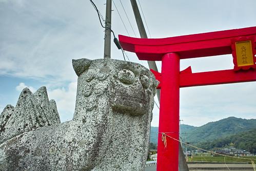 穴門山神社(倉敷市真備町)3