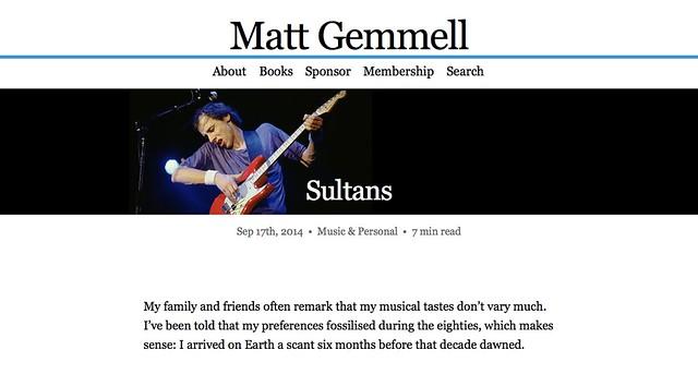 MattGemmell.com banner articles