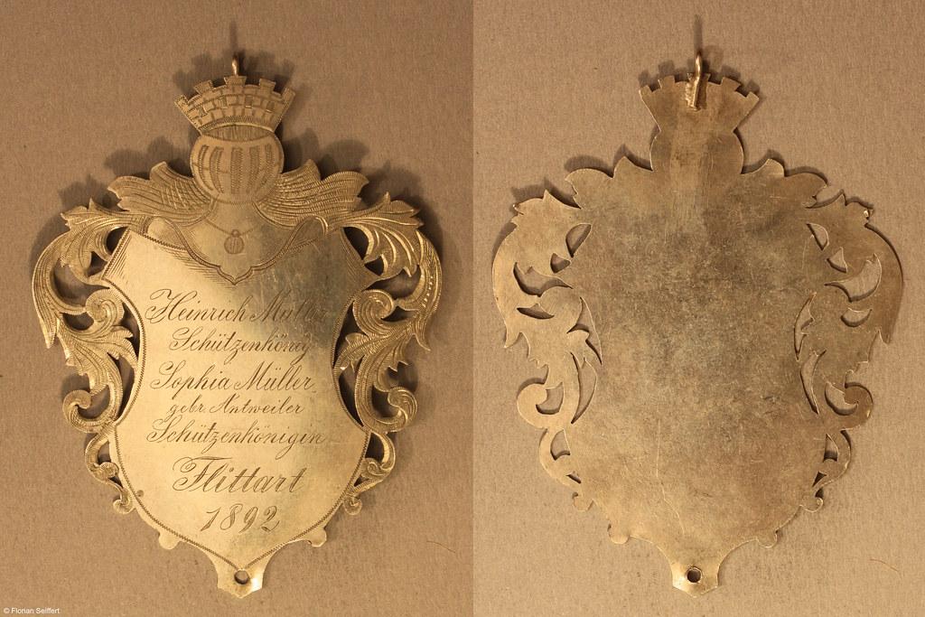 Koenigsschild Flittard von mueller heinrich aus dem Jahr 1892