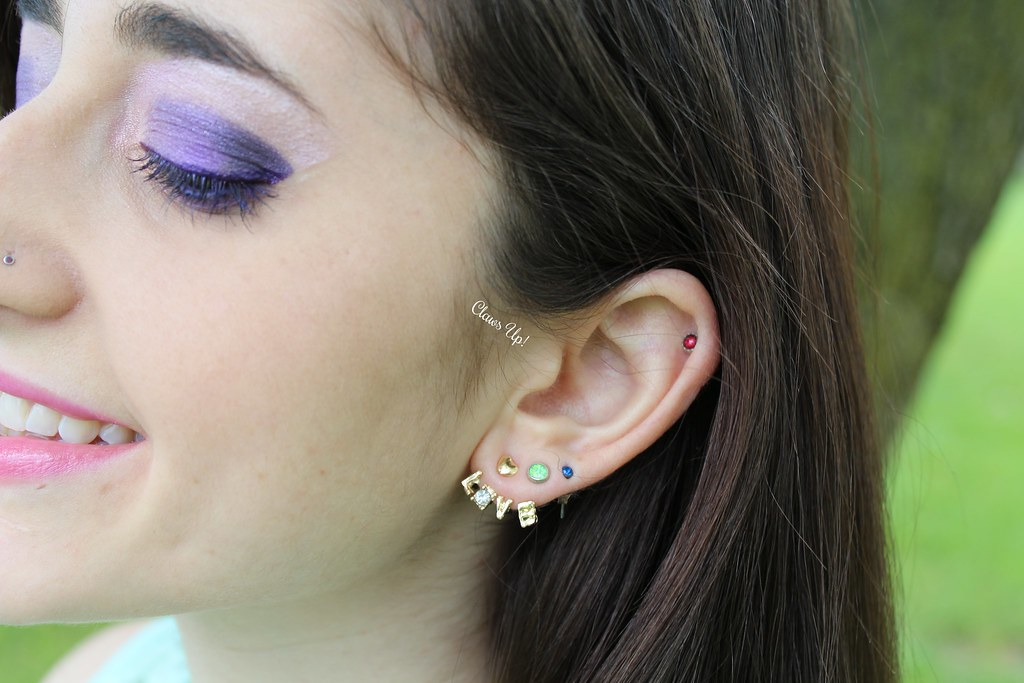 Born Pretty Store Love ear jackets. Use my coupon code for 10% off JACG10