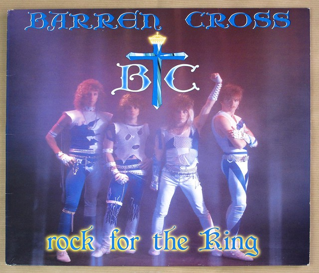 "BARREN CROSS ROCK FOR THE KING STAR GONG 12"" LP VINYL"