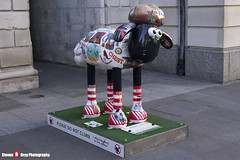 LITERARY LAMB No.24 - Shaun The Sheep - Shaun in the City - London - 150512 - Steven Gray - IMG_0427