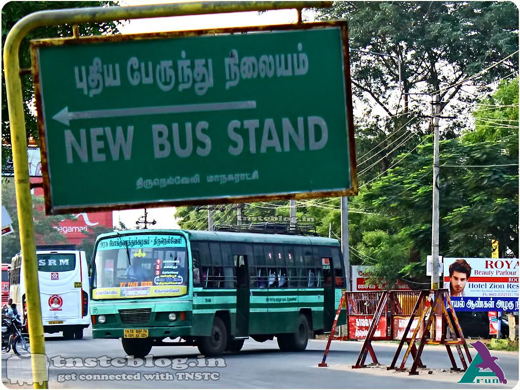 TN-74N-1371 of Ranithootam 1 Depot 1 2 3 Nagercoil - Valliyoor - Tirunelveli