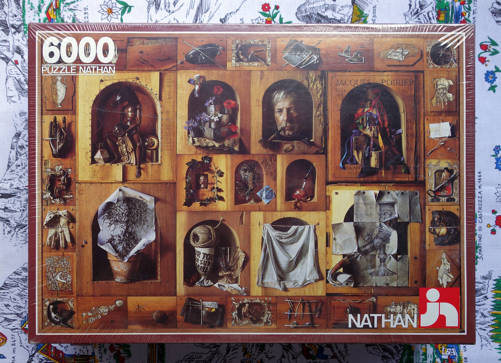 6000 piece puzzle 39 the craftsmen masterpiece 39 by jacques. Black Bedroom Furniture Sets. Home Design Ideas